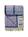 Designers Guild Kyaari Throw, Amethyst