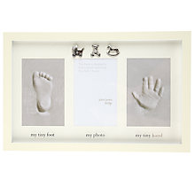 Buy John Lewis Hand and Foot Clayprint Frame Online at johnlewis.com