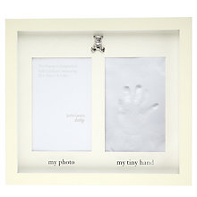 Buy John Lewis Hand Clay Imprint Frame Online at johnlewis.com
