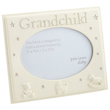 Buy John Lewis Grandchild Frame, Small, Cream Online at johnlewis.com
