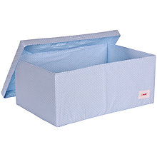 Buy Minene Blue Spot Large Box Online at johnlewis.com