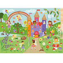 Buy Happy Spaces Magical Fairysite Canvas Print Online at johnlewis.com
