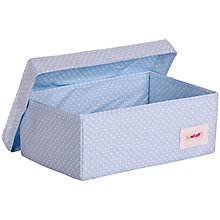 Buy Minene Blue Spot Small Box Online at johnlewis.com