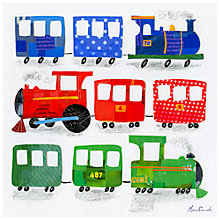Buy Happy Spaces Choo Choo Canvas Print Online at johnlewis.com