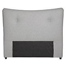 Buy Bethan Gray for John Lewis Genevieve Headboard, Super Kingsize, Grey Online at johnlewis.com