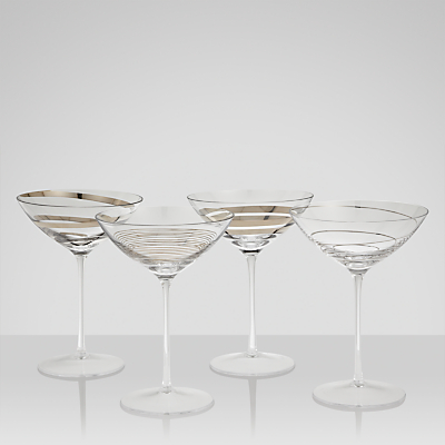 LSA International Gatsby Cocktail Glasses, Set of 4