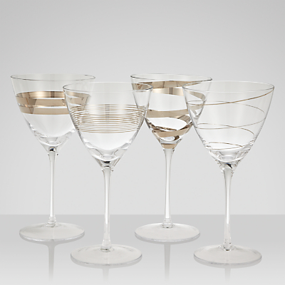 LSA International Gatsby Wine Glasses, Set of 4