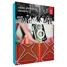 Buy Adobe Photoshop Elements 12, Photo Editing Software Online at johnlewis.com