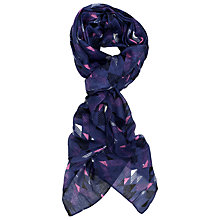 Buy French Connection Kendall Scarf, Island Blue/Multi Online at johnlewis.com