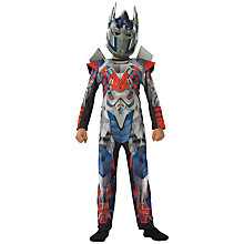 Buy Transformers Optimus Prime Deluxe Dressing-Up Costume Online at johnlewis.com