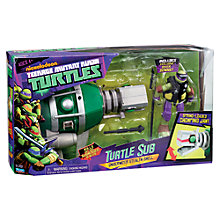 Buy Teenage Mutant Ninja Turtles Turtle Sub Underwater Stealth Sub Online at johnlewis.com