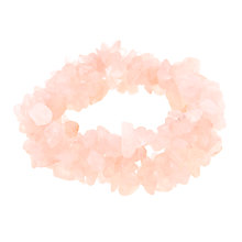 Buy John Lewis Rose Quartz Stretch Bracelet Online at johnlewis.com