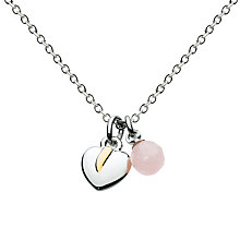 Buy Julie Dodsworth Leaf And Bead Facet Necklace Online at johnlewis.com