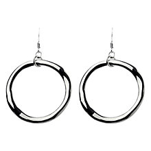 Buy Adele Marie Pendant Hoop Earrings Online at johnlewis.com