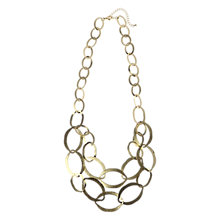 Buy Adele Marie Oval Link Two Row Necklace Online at johnlewis.com