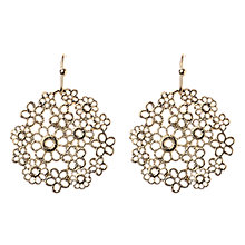 Buy Adele Marie Floral Drop Earrings Online at johnlewis.com