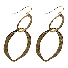 Buy Adele Marie Linked Oval Earrings Online at johnlewis.com
