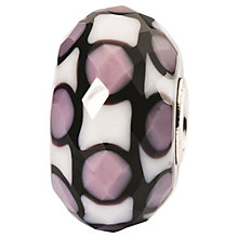 Buy Trollbeads Limited Jewel Faceted Murano Glass Bead, Lavender Online at johnlewis.com