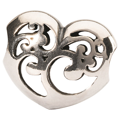 Buy Trollbeads Caring Light Bead, Silver Online at johnlewis.com