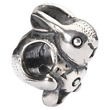 Buy Trollbeads Easter Bunny Sterling Silver Charm, Silver Online at johnlewis.com