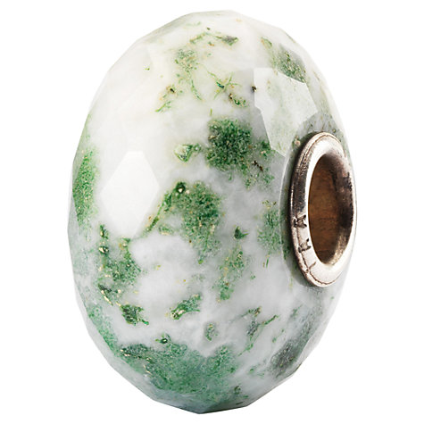 Buy Trollbeads Moss Agate Bead Charm, Green Online at johnlewis.com