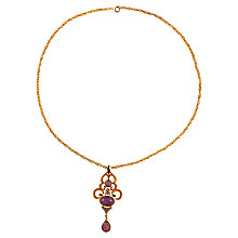 Buy Alice Joseph Vintage 1960s Trifari Gilt Plated Jewellery Set Online at johnlewis.com