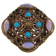 Buy Alice Joseph Vintage 1930s Gilt Plated Celtic Filigree Brooch, Multi Online at johnlewis.com