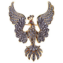 Buy Alice Joseph Vintage Attwood And Sawyer Polished Gilt Plated Pheonix Brooch Online at johnlewis.com