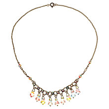 Buy Alice Joseph Vintage 1930s Rainbow Glass Beaded Necklace Online at johnlewis.com