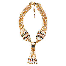 Buy Alice Joseph Vintage 1980s Gilt Plated Chain Drop Statement Necklace, Gold Online at johnlewis.com