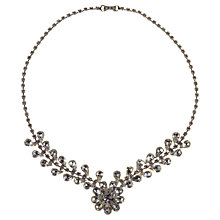Buy Alice Joseph Vintage 1950s Diamante Necklace, Silver Online at johnlewis.com