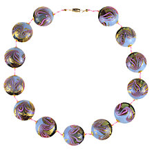 Buy Alice Josph Vintage Hand-Blown Murano Glass Bead Necklace Online at johnlewis.com