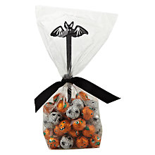 Buy Pumpkins and Eyeballs Halloween Chocolates with Bat Pick, 200g Online at johnlewis.com