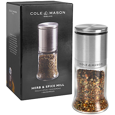 Cole & Mason Kingsley Herb and Spice Mill