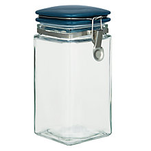 Buy John Lewis Croft Collection Square Storage Jar Online at johnlewis.com