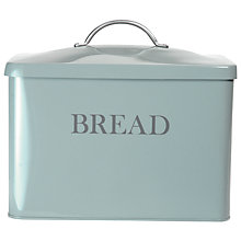 Buy Garden Trading Bread Bin, Shutter Blue Online at johnlewis.com