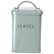 Buy Garden Trading Coffee Canister, Shutter Blue Online at johnlewis.com