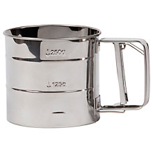 Buy Garden Trading Stainless Steel Flour Sifter Online at johnlewis.com