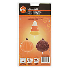 Buy Wilton Candy Corn and Pumpkin Lollipop Mould Online at johnlewis.com