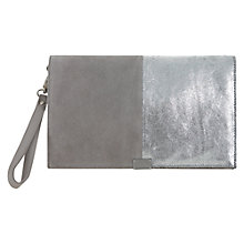 Buy Mint Velvet Kate Blocked Clutch Handbag, Multi Online at johnlewis.com
