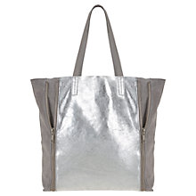 Buy Mint Velvet Milly Soft Leather Shopper Bag, Multi Online at johnlewis.com