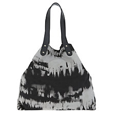 Buy Mint Velvet Tilly Print Canvas Beach Bag, Multi Online at johnlewis.com