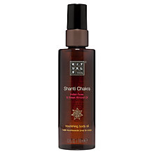 Buy Rituals Shanti Chakra Nourishing Body Oil, 100ml Online at johnlewis.com