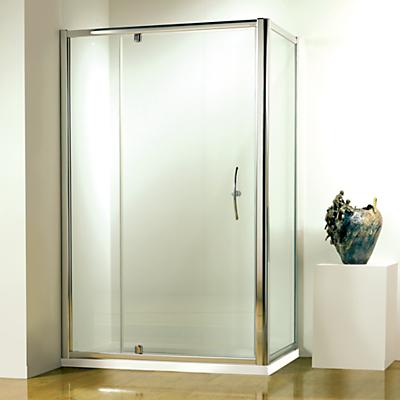 John Lewis 80 x 80cm Shower Enclosure with Pivot Front Door