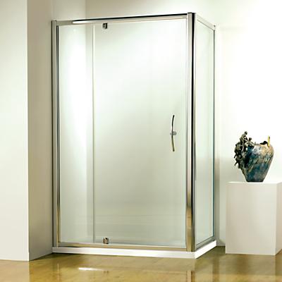 John Lewis 120 x 80cm Shower Enclosure with Pivot Front Door