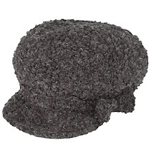 Buy John Lewis Boucle Baker Boy Hat, Grey Online at johnlewis.com