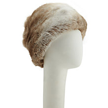 Buy Kamy Cossack Hat, Beige Online at johnlewis.com