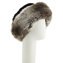 Buy Kamy Fur Trim Cossack Hat, One Size Online at johnlewis.com