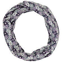 Buy Seasalt Handyband Flower Snood, Purple/Navy Online at johnlewis.com