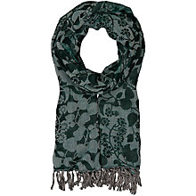Buy Seasalt Awakening Floral Print Shawl, Green Online at johnlewis.com